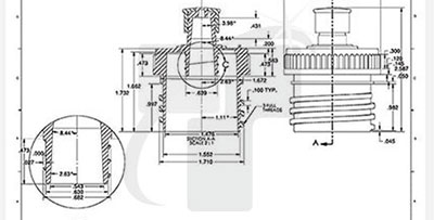 Pressure Release Valve Drawing