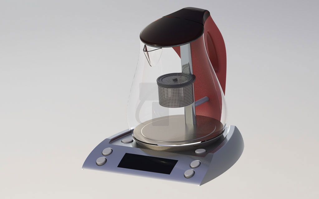Electronic coffee maker